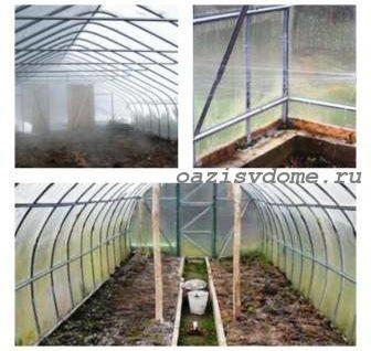 Осенняя обработка теплиц после сбора урожая от вредителей и болезней