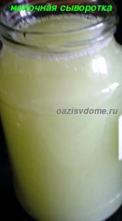 Молочная сыворотка для подкормки растений