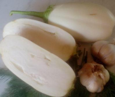 Баклажаны сорта Вкус грибов