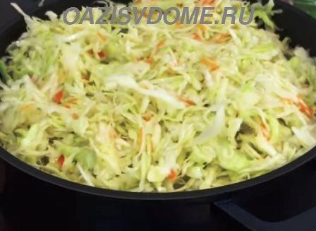 Засолка капусты в своем соку