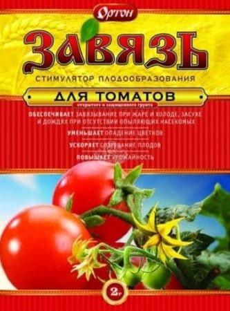 Препарат Завязь для плодообразования томатов