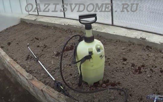 Садовый опрыскиватель