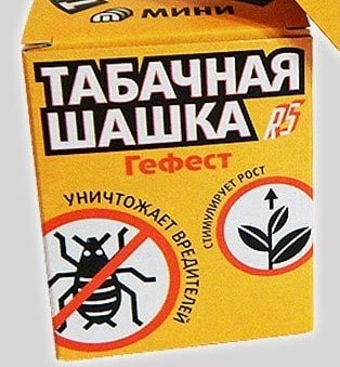 Дымовая табачная шашка